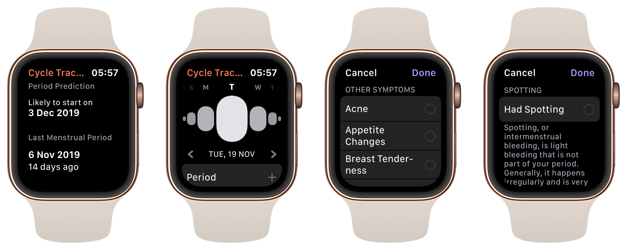 Apple's Cycle Tracking: A Personal Review